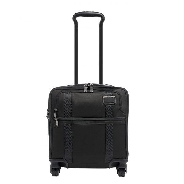 Tumi Merge Small Compact 4 Wheeled Brief black Zachte koffer