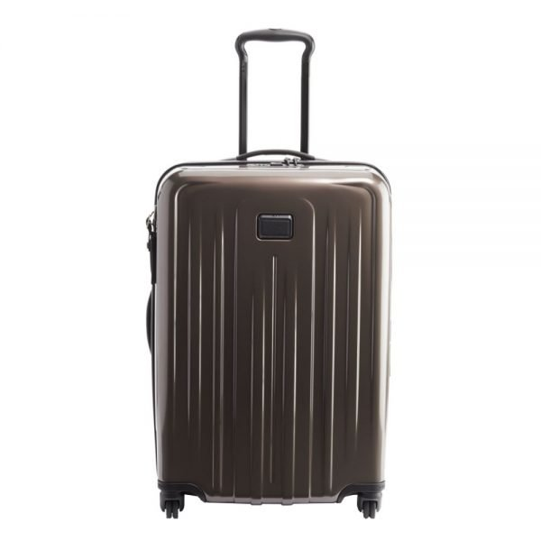 Tumi V4 Short Trip Expandable 4 Wheeled Packing Case mink Harde Koffer