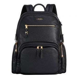 Tumi Voyageur Leather Carson Backpack black Damestas