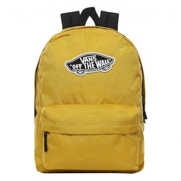 Vans Realm Backpack olive oil backpack