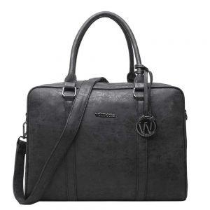 Wimona Luciana Dames Laptoptas black
