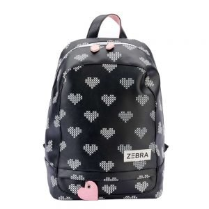 Zebra Trends Girls Rugzak L crossed hearts xl