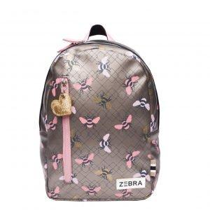 Zebra Trends Girls Rugzak M Bees pink