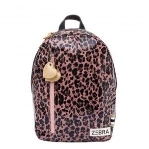 Zebra Trends Girls Rugzak M pink leo