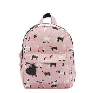 Zebra Trends Girls Rugzak S Horses pink Kindertas