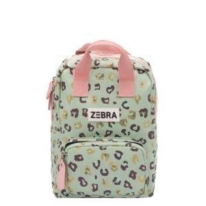 Zebra Trends Girls Rugzak S Vierkant leo mint & gold Kindertas