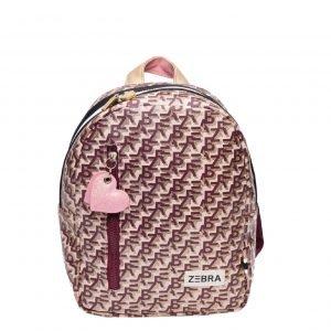 Zebra Trends Girls Rugzak S Zebra Printing pink Kindertas