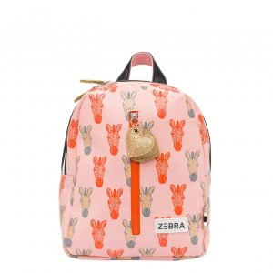 Zebra Trends Girls Rugzak S Zebra peach/gold Kindertas