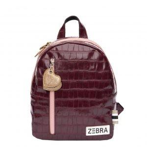 Zebra Trends Girls Rugzak S red pink Kindertas