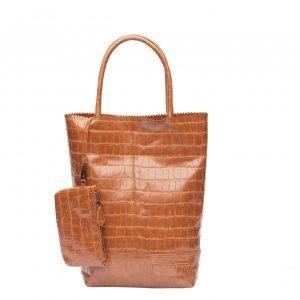 Zebra Trends Natural Bag Kartel Croco camel Damestas