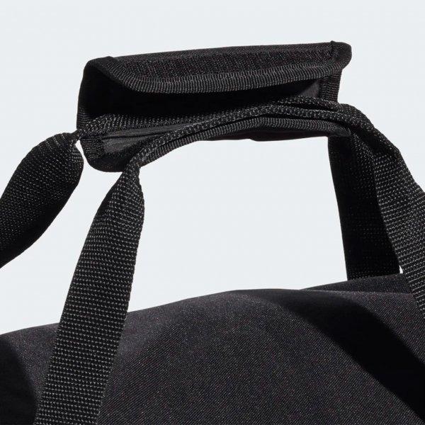 Adidas Training Linear Duffel L black/black/white Weekendtas van Polyester