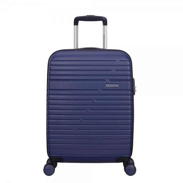 American Tourister Aero Racer Spinner 55 nocturne blue Harde Koffer van ABS