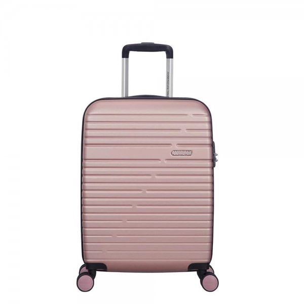 American Tourister Aero Racer Spinner 55 rose pink Harde Koffer van ABS