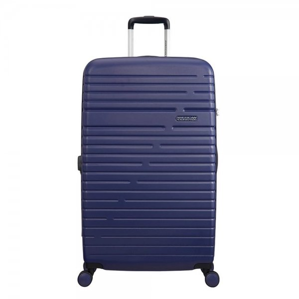 American Tourister Aero Racer Spinner 79 Expandable nocturne blue Harde Koffer van ABS