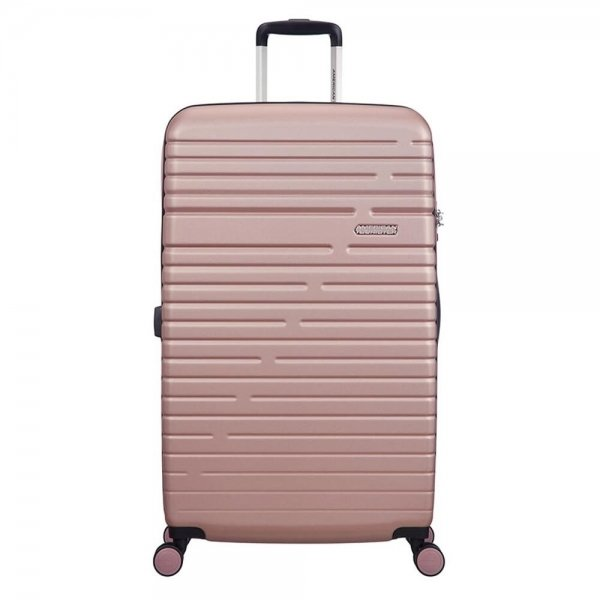 American Tourister Aero Racer Spinner 79 Expandable rose pink Harde Koffer van ABS