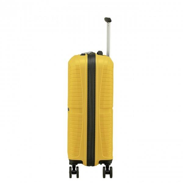 American Tourister Airconic Spinner 55 lemondrop Harde Koffer van Polypropyleen