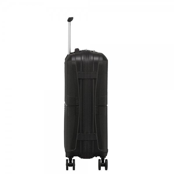 American Tourister Airconic Spinner 55 onyx black Harde Koffer van Polypropyleen