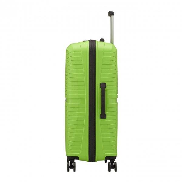American Tourister Airconic Spinner 67 acid green Harde Koffer van Polypropyleen