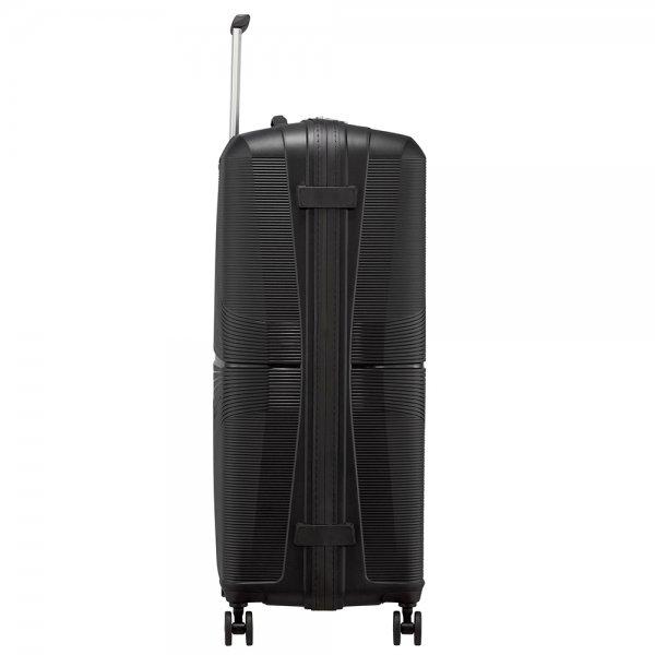 American Tourister Airconic Spinner 77 onyx black Harde Koffer van Polypropyleen