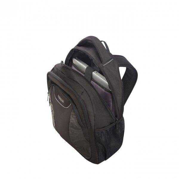 American Tourister At Work Laptop Backpack 15.6'' Print Tag black print backpack van Polyester