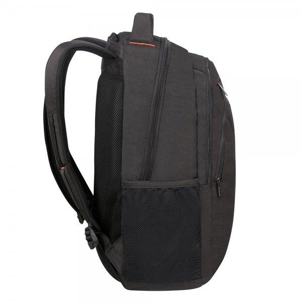 "American Tourister At Work Laptop Backpack 17.3"" black/orange backpack van Polyester"