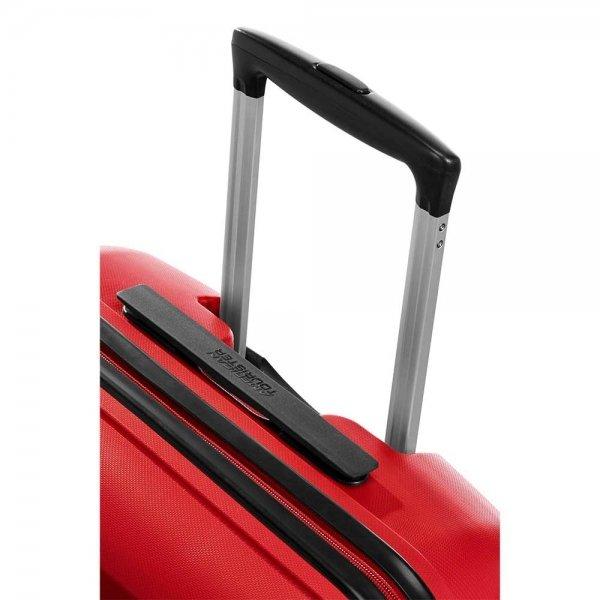 American Tourister Bon Air Spinner M magma red Harde Koffer van Polypropyleen