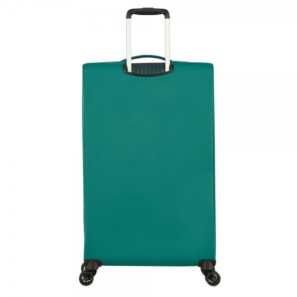 American Tourister Lite Ray Spinner 81 forest green Zachte koffer van Polyester
