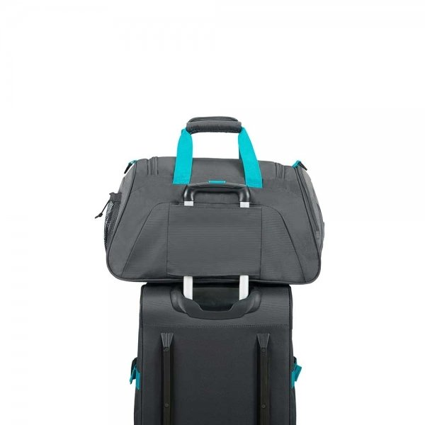 American Tourister Road Quest Sportsbag grey / turquoise Weekendtas