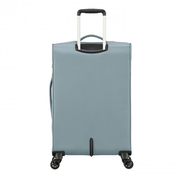 American Tourister Summerfunk Spinner 67 Exp metal grey Zachte koffer van Polyester
