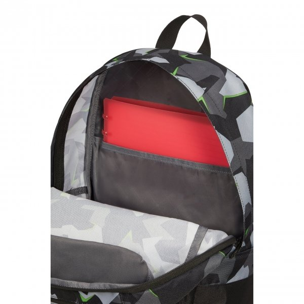 American Tourister Urban Groove Lifestyle Backpack 1 Print camo/acid green backpack van Polyester