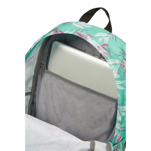 American Tourister Urban Groove Lifestyle Backpack 1 bloom backpack van Polyester