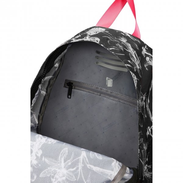 American Tourister Urban Groove Lifestyle Backpack 6 flowers black backpack