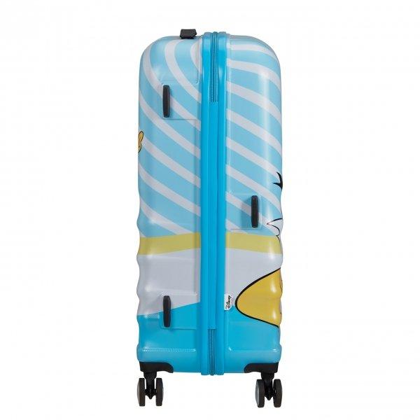 American Tourister Wavebreaker Disney Spinner 67 donald blue kiss Harde Koffer