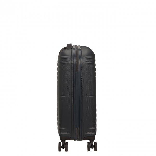 American Tourister Wavetwister Spinner 55 universe black Harde Koffer van ABS
