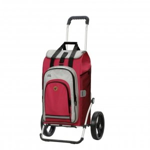 Andersen Royal Boodschappentrolley Hydro 2.0 red Trolley