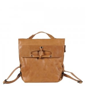Aunts & Uncles Grandma's Luxury Club Mrs. Mince Pie Backpack / Crossover Bag caramel Damestas