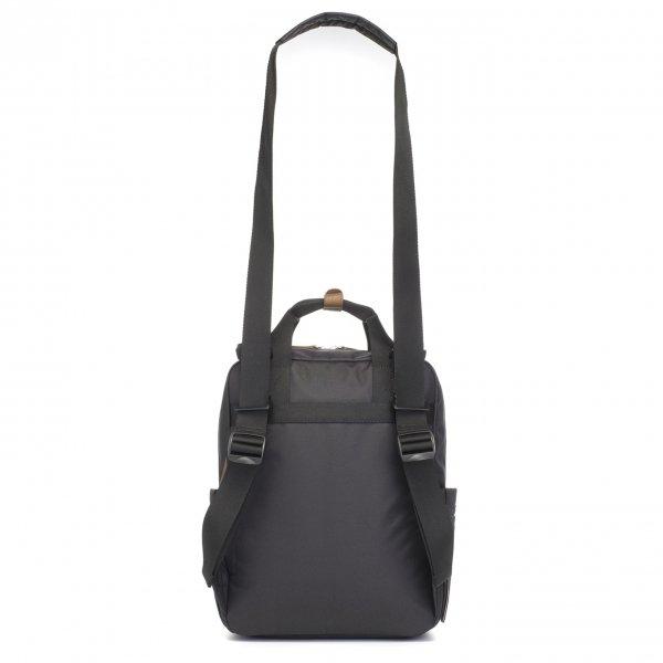 Babymel Georgi Convertible Backpack black Luiertas van Polyester