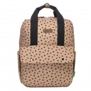 Babymel Georgi Convertible Backpack caramel leopard Luiertas