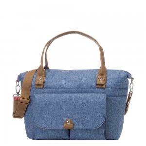 Babymel Jade Diaper Bag mid blue Luiertas