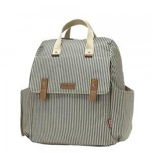 Babymel Robyn Convertible Backpack navy stripe Luiertas