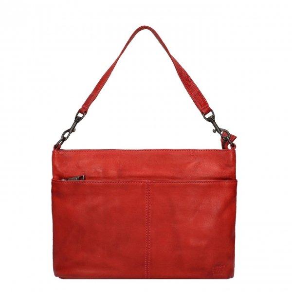 Bear Design Callisto Pelle Handtas rood