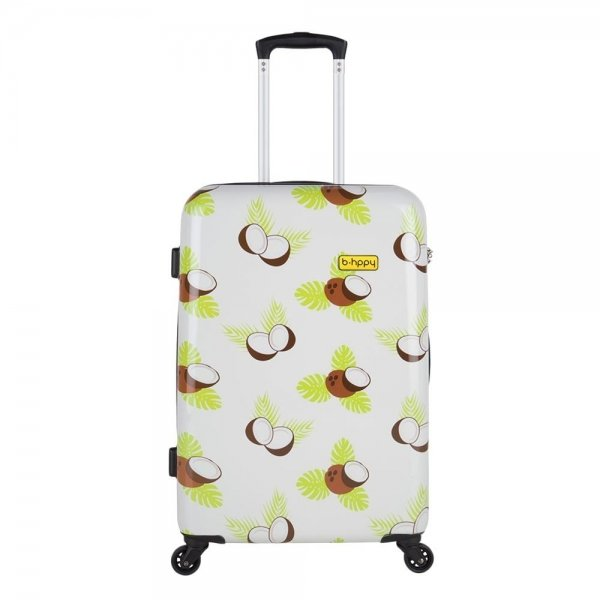 Bhppy Crazy Coco Trolley 67 white Harde Koffer