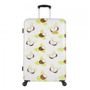 Bhppy Crazy Coco Trolley 77 white Harde Koffer