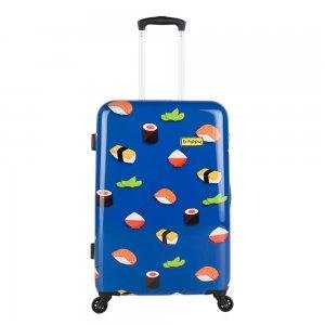 Bhppy Roll'ing Sushi Trolley 67 blue Harde Koffer