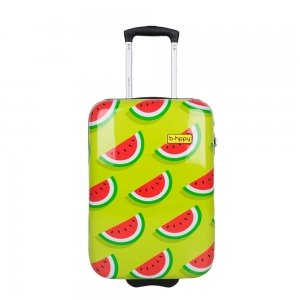 Bhppy Two In A Melon Trolley 55 green / red Harde Koffer