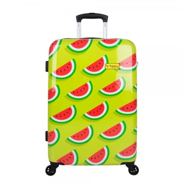 Bhppy Two In A Melon Trolley 67 green / red Harde Koffer