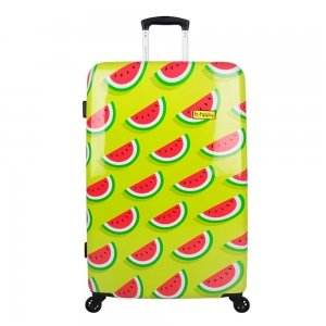 Bhppy Two In A Melon Trolley 77 green / red Harde Koffer