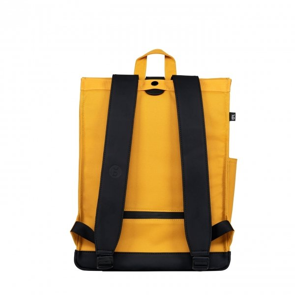 Bold Banana Original Backpack yellow raven backpack van Polyester