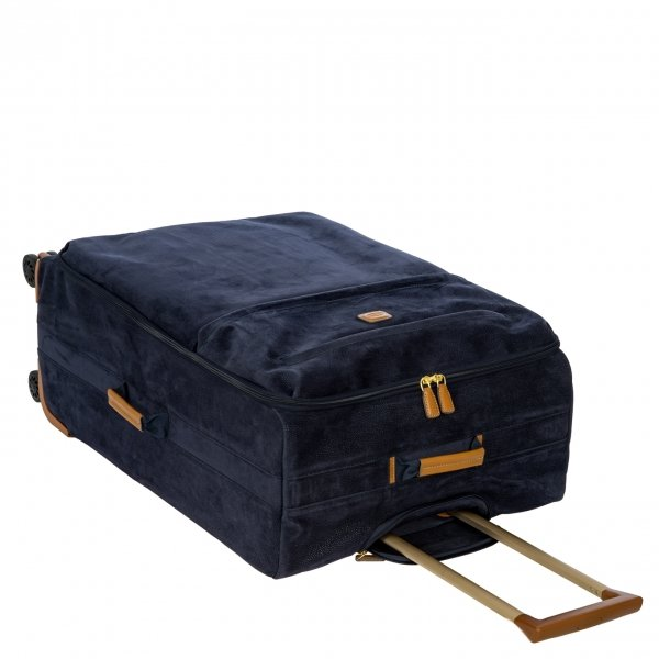 Bric's Life Trolley 77 blue Zachte koffer