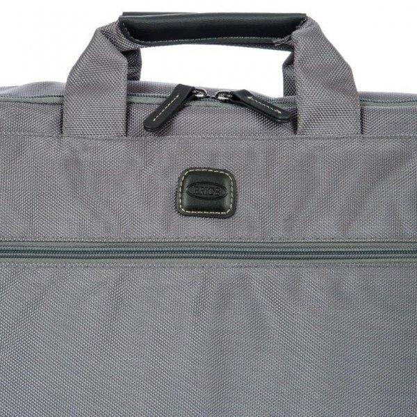 Bric's Siena Briefcase grey van Polyester